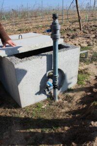 Regularização das disponibilidade hídricas da vinha