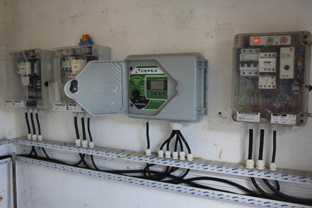 Instalação de um sistema de rega em 3 ha